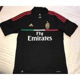 Camisa Milan Italia Oficial adidas Seleção Futebol 91ddc00f0e09d