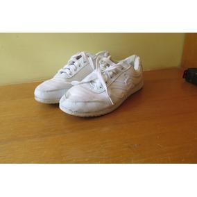 Zapatos Deportivos Blancos Escolares Colegio T 37 De Tela 348e4d28fc0e4
