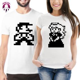 Playeras Duo Pareja Mario Bros 2