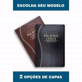 Bíblia De Estudo Palavras Chave Marrom - Cpad