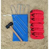 184c81cc2 Kit De Marcação Quissak Para Beach Tennis - Esportes e Fitness no ...