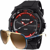 Kit Relógio Mormaii Masculino Action Com Óculos Mo15oc 48 db8f6b2bdd