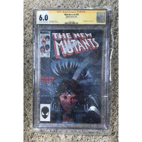 New Mutants 18 Cgc Autografado Por Stan Lee