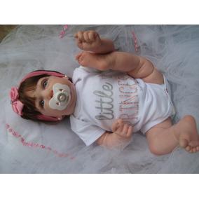 1aa4879e5 Bebê Reborn Saskia Corpo Inteiro - Pronta Entrega Promoção