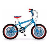 Bicicleta Rodado 16 De Nene Licencia Disney The Avengers *10