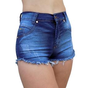 Short Jeans Spike Pedras Detalhe Moda Bruna Marquezine