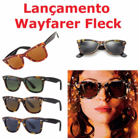 Oculos De Sol Rayban Rb2140 Wayfarer Tartaruga . - Óculos no Mercado ... bbf480085f