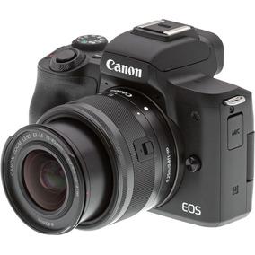Câmera Canon Eos M50 Com Lente 15-45mm.