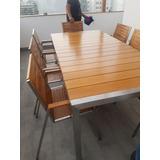 Mueble De Terraza Exclusiva De Acero Inoxidable