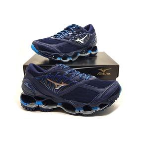 c506087ccb6 Mizuno Wave Prophecy Feminino Tamanho 40 - Tênis Azul marinho no ...