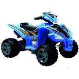 Cuatri Moto Infantil Eléctrica Azul -60606