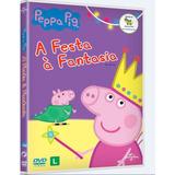 Peppa Pig A Festa Á Fantasia - Dvd / Infantil