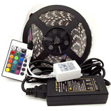 Tira De Luces Led Rgb 5050 5 Metros - Kit Completo