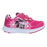 Zapatillas Disney Minnie Con Luces Addnice Flex Mundo Manias