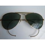 Gafas Lentes Sol Ray Ban Aviador Usa Baush & Lomb Vintage