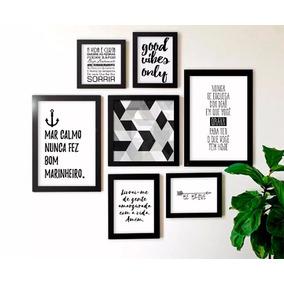 Quadro De Frases Preto E Branco Quadros Quadros Decorativos Em São