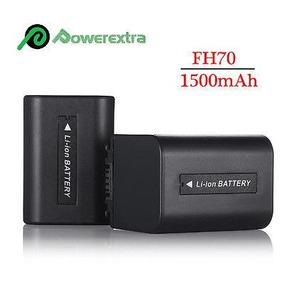 2 Baterías Para Sony Np-fh70 Hdr-hc9 De Handycam Dcr-hc-7397