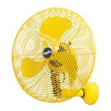 Ventilador De Parede Ventisilva 40cm Retrô Amarelo