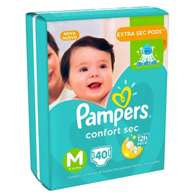 1 Paquete Pañales Pampers Confort Sec 40 Unidades Talla M