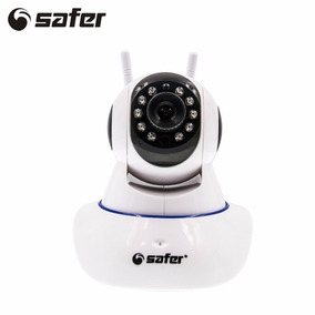 Câmera Safer Ip 1.3mp 720p Hd 355 Wireless Wifi Audio Sd P2p