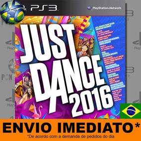Jogo Just Dance 2016 Promoção Ps3 Legendas Português Pt Br