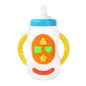 Brinquedo Mamadeira Musical Bebê Infantil Sons Canções!