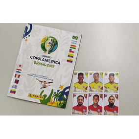 Copa America 2019 Album + 150 Figurinhas Sem Repetições