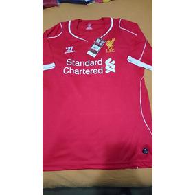 Camiseta Liverpool Inglaterra Warrior Nueva Xl