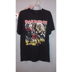 Playera Iron Maiden Original Concierto Importada Tour 2008