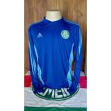 Camisa Palmeiras Azul Manga Longa no Mercado Livre Brasil ee189db8243f5