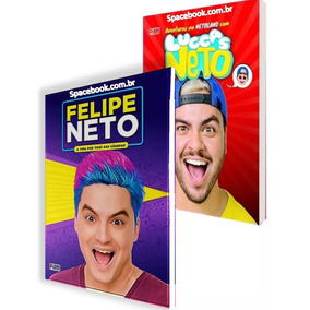 Luccas Neto & Felipe Neto - Kit 2 Livros Lacrado