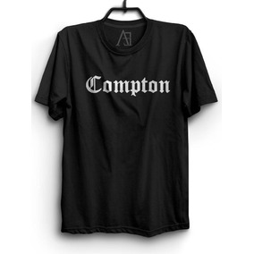 Camiseta Compton Hip Hop Camisa Rap Compton e6db570a5dd