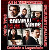 Criminal Minds Serie (1ª Até 14ª Temporada Completas) +frete