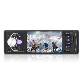 Auto Estereo 4022d Bluetooth Mp3 Caratula Fija Aux Fm Sd Usb