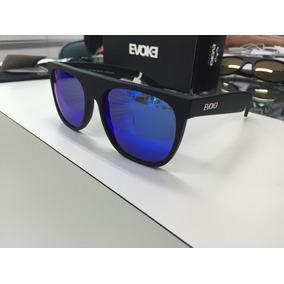 Oculos Solar Evoke Haze A01b Preto Fosco Lente Azul Original 9c104a4a35