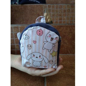 Monedero Mini Backpack Bolsa Multiusos Diy