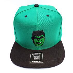 11da83c409494 Boné Do Hulk Infantil Aba Reta Boné Desenho Do Hulk Menino