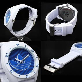 adidas Santiago Silicone Branco Relógio De Pulseira Adh3195