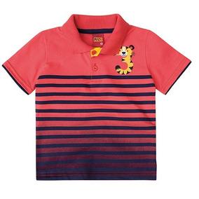 Camisa Polo Infantil Masculina Kyly 4c0b66d9fbbb9