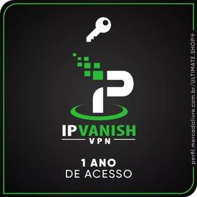 Ipvanishvpn Premium 1 Ano De Acesso + Suporte