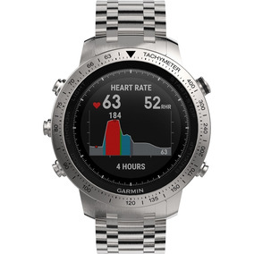 447841ae953 Garmin - Fenix® Chronos Smartwatch Acero Inoxidable De 49 Mm