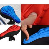 Capa De Almofada Para Banco De Bicicleta Gel 3d Bike Confort