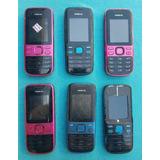 Lote Com 6 Celulares Nokia 2690 (leia A Descrição)