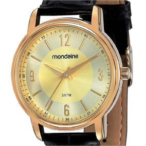 196f5113d84 Relogio Mondaine Folheado A Ouro - Relógio Mondaine no Mercado Livre ...