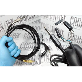 Tattoo Clipcord Plug + Clip Rca Xl 3mtrs Nac Tatuar Tatuajes