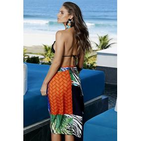 6da74d9b9df4 Saia Estampada - Moda Praia Femininas no Mercado Livre Brasil