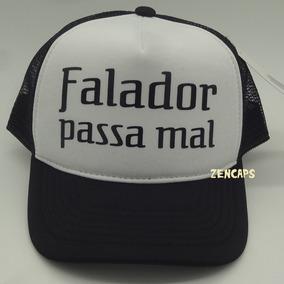 Boné Falador Passa Mal Originais Do Samba Mussum Trucker 58de52f834e35