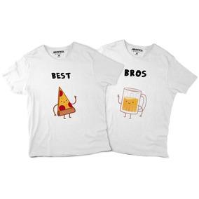 Playeras De Mejores Amigos Best Bros Camisetas Grapics