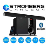 Soundbar Stromberg Subwoofer Bluetooth Sb-21 Soundgroup.