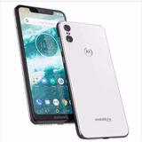 Motorola One 64gb 4gb Ram Tela 5,9 Xt1941-3 Branco + N F